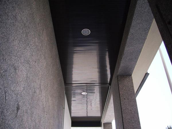 Aluminios alpax s l - Falso techo aluminio ...